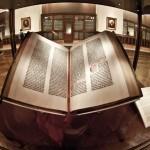 Gutenbergova biblija - centralna knjižnica - New York