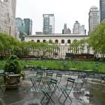 Park Bryant pred knjižnico - New York