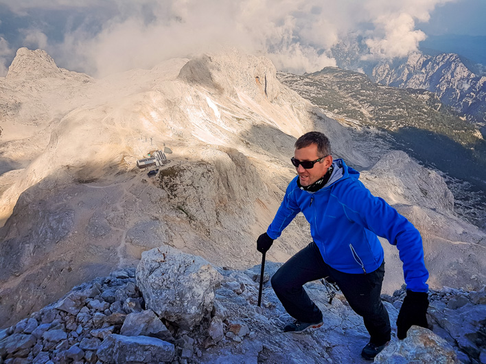 Naporna pot proti vrhu