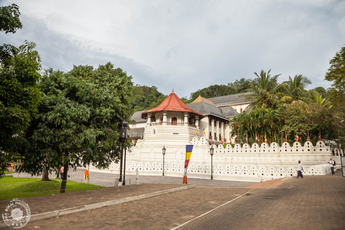 Kandy - Temple of the Tooth Relic - Tempelj budinega zoba