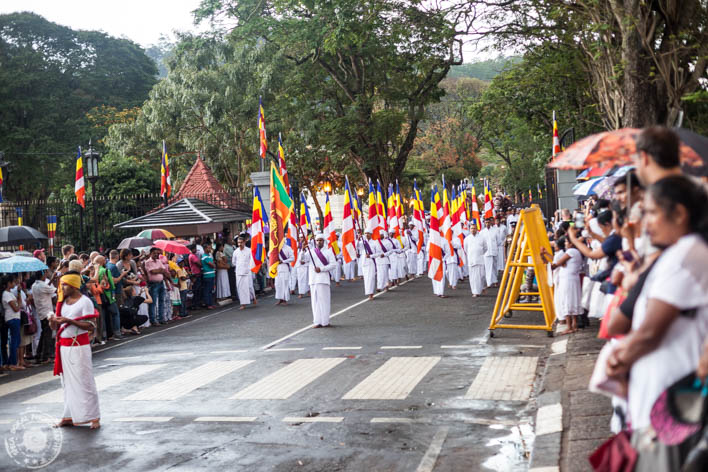 Kandy - Temple of the Tooth Relic - Tempelj budinega zoba - PUJA