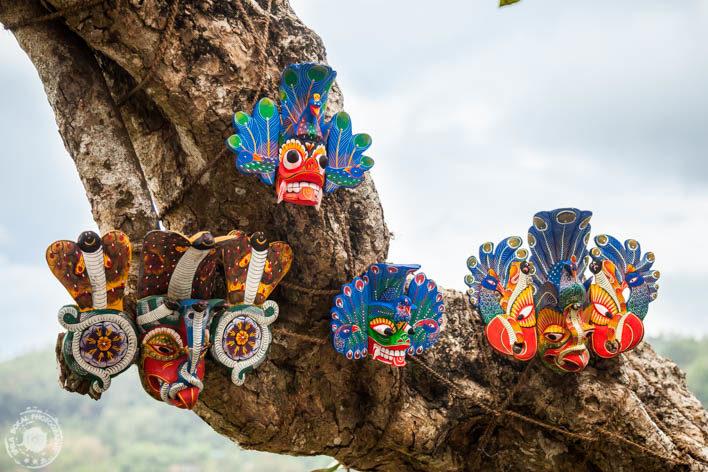 Kandy - Sri Lanške maske