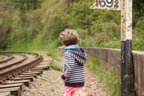 Kdo bo prej ... vlak ali Lia :)