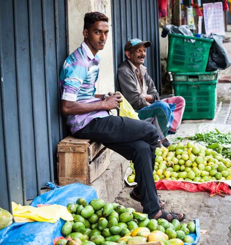 Lokalni prodajalci sadja