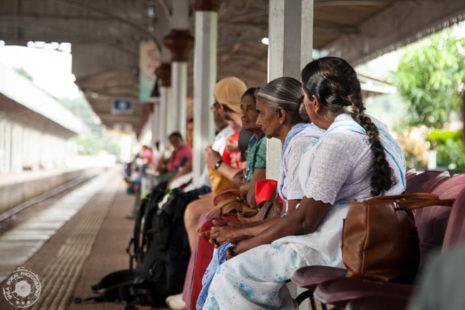 Čakajoči na vlak