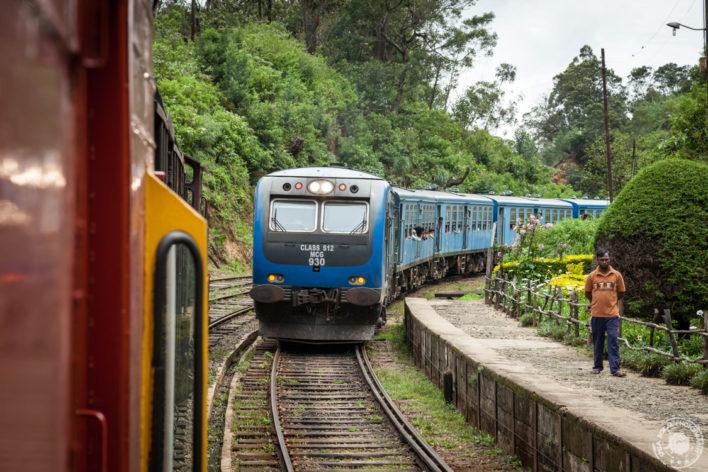 Prihod na železniško postajo