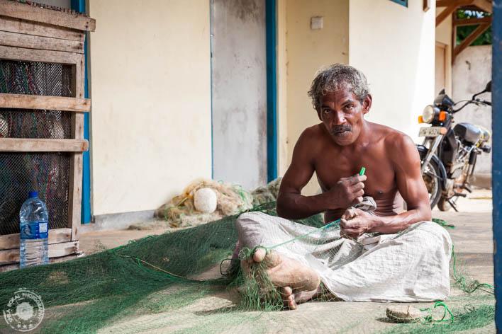 SriLanka - Tangalla - Fish market