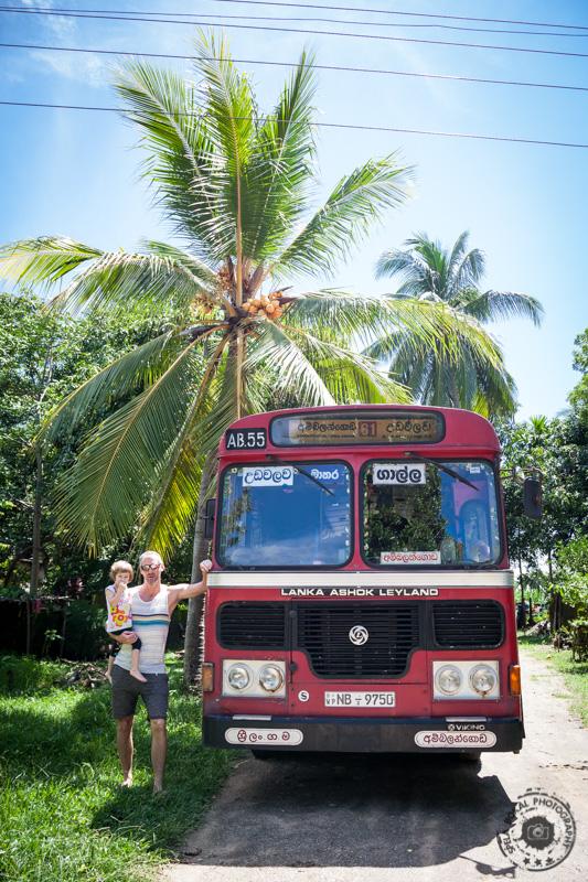 UdaWalawe - Tangalle avtobus
