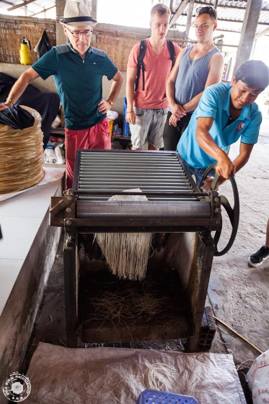 Izdelava riževih rezancev