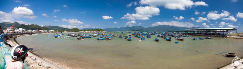 Ribiška vasica v bližini Nha Tranga