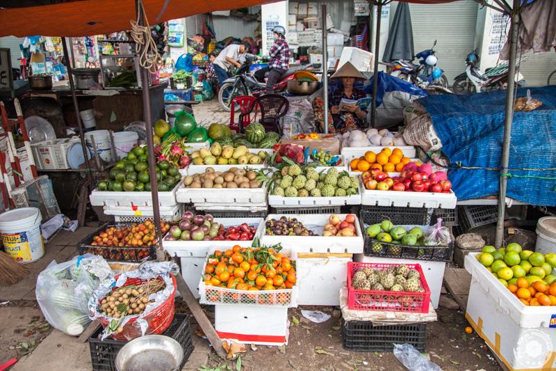 Lokalni market Dam, Nha Trang