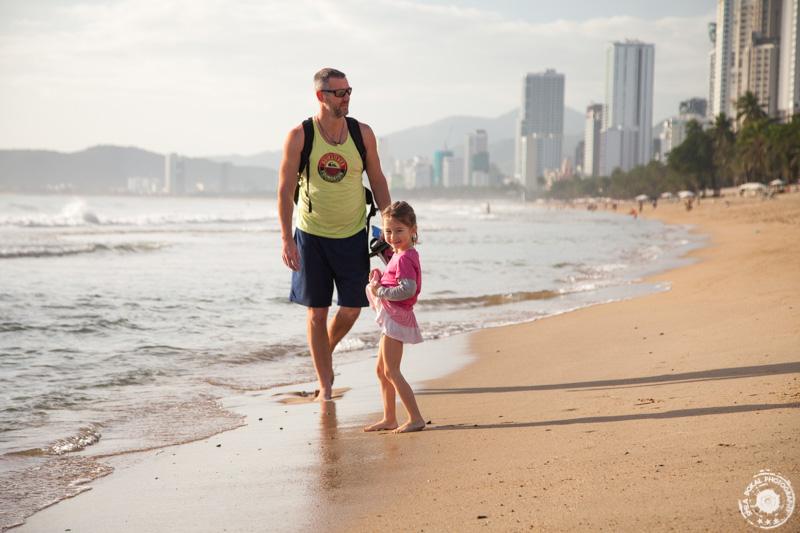 Plaža v Nha Trangu