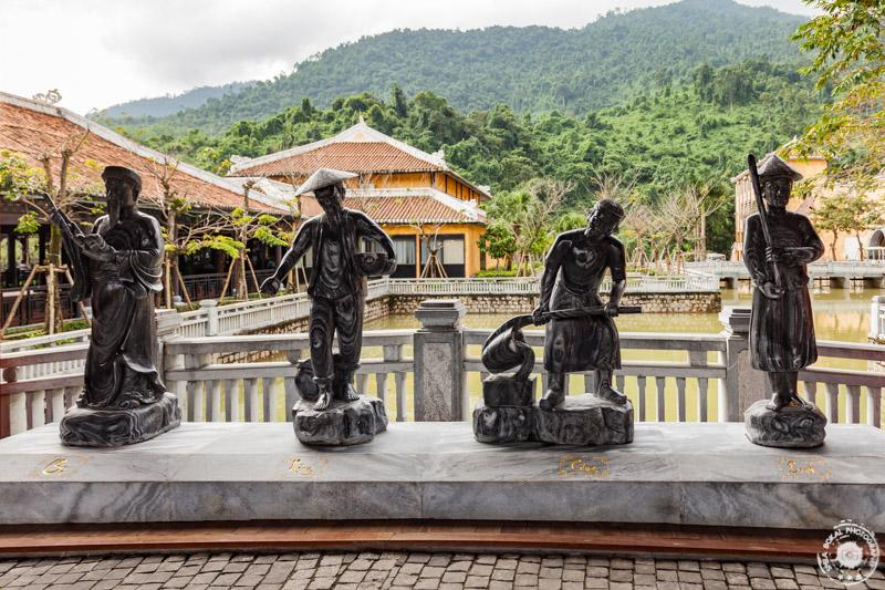 Da Nang, Ba Na Hills, Vietnam - na vstopu