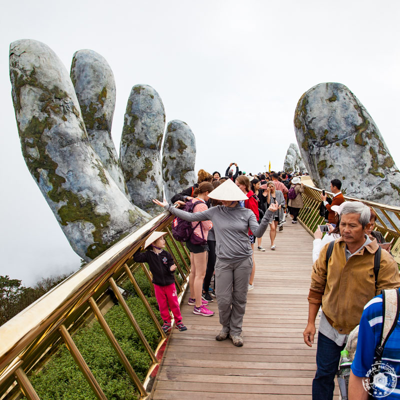Da Nang, Ba Na Hills, Vietnam - Golden Bridge