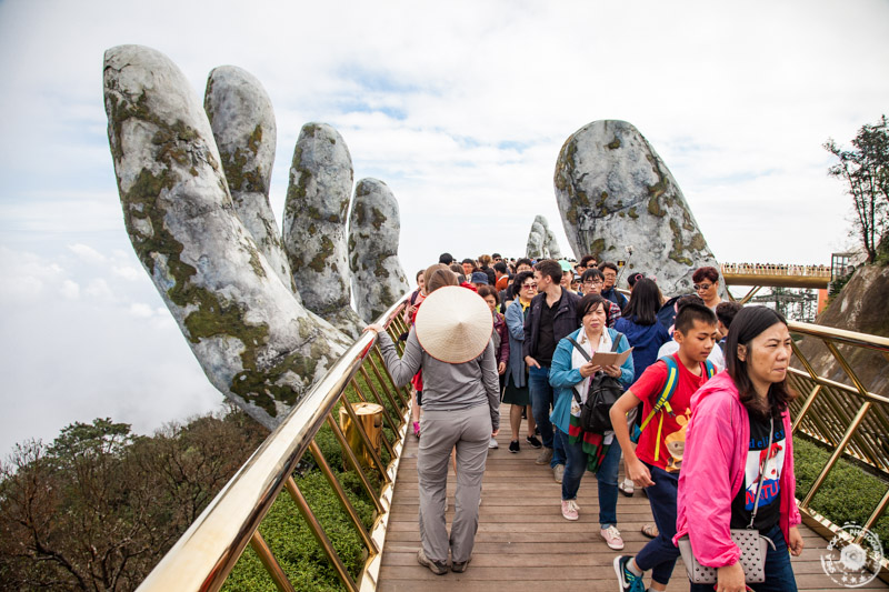 Da Nang, Ba Na Hills, Golden bridge