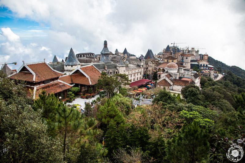 Da Nang, Ba Na Hills, pogledi na francosko vasico