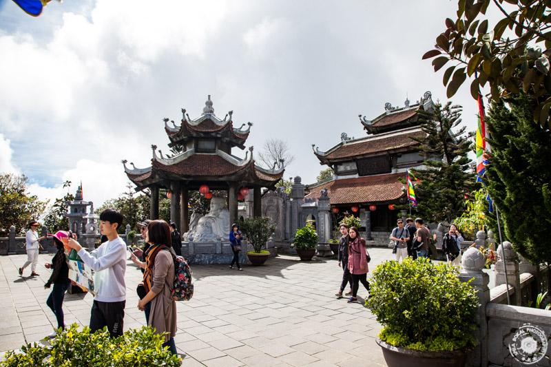 Da Nang, Ba Na Hills pogledi templja na francosko vasico