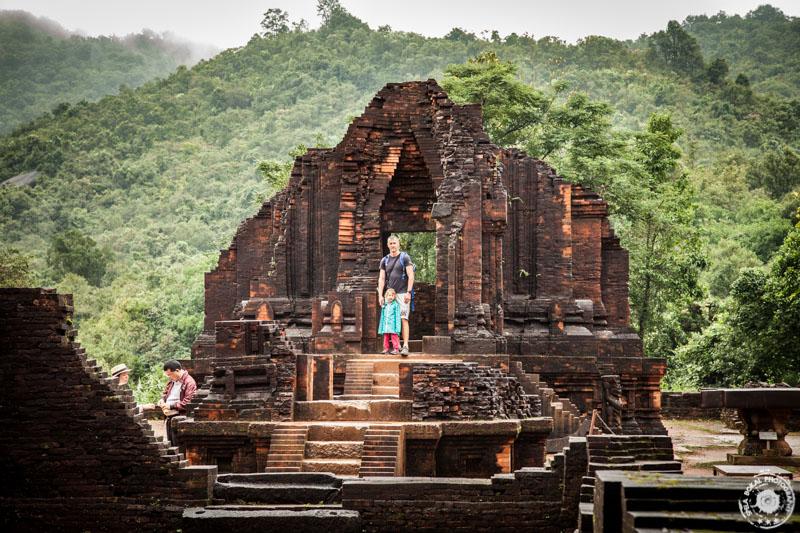 Eden najlepše ohranjenih delov hindujskega templja My Son