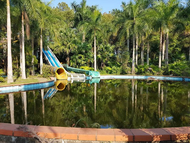 Opuščen vodni park Hồ Thuỷ Tiên - Huế, Vietnam