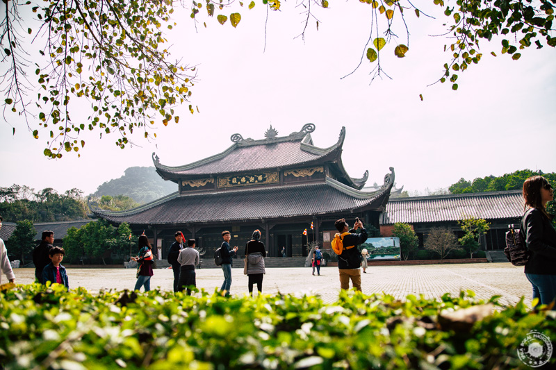 Templelj Tam v kompleksu Bai Dinh, Ninh Binh, Vietnam