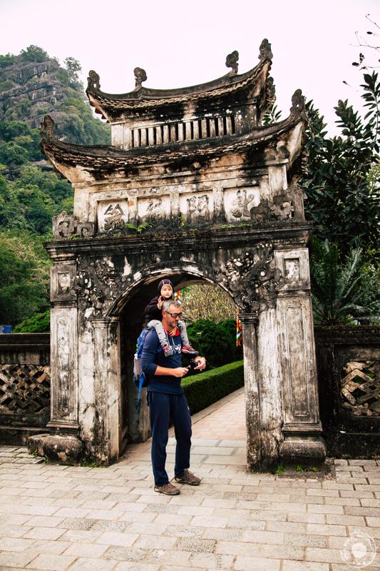 Notranja vrata v starodavno mesto Hoa Lu.