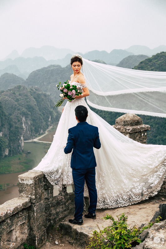 Pohod na goro Mua Cave - mladoporočenca, Ninh Binh – Vietnam